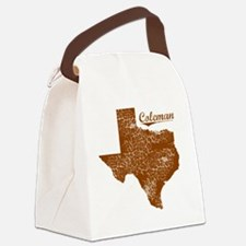Coleman, Texas (Search Any City!) Canvas Lunch Bag