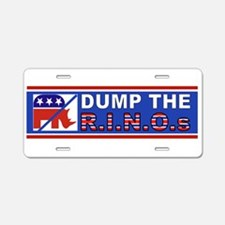 DUMP Mccain Aluminum License Plate