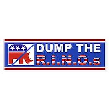 DUMP Mccain Bumper Bumper Sticker