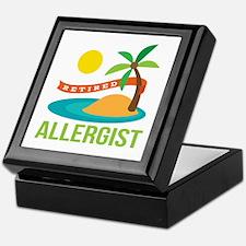 Retired Allergist Keepsake Box