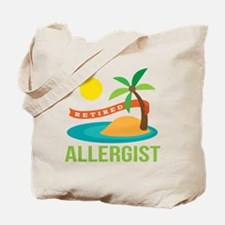 Retired Allergist Tote Bag