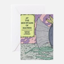 MOUNTAINS OF MADNESS POSTER Greeting Card