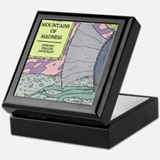 MOUNTAINS OF MADNESS POSTER Keepsake Box