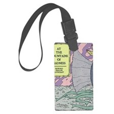 MOUNTAINS OF MADNESS POSTER Luggage Tag