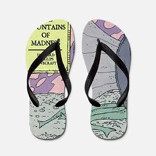 MOUNTAINS OF MADNESS POSTER Flip Flops