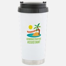 Retired Administrative Assistant Travel Mug