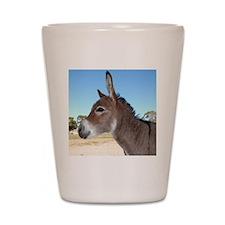 Miniature Donkey Shot Glass