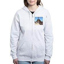Miniature Donkey Zip Hoodie
