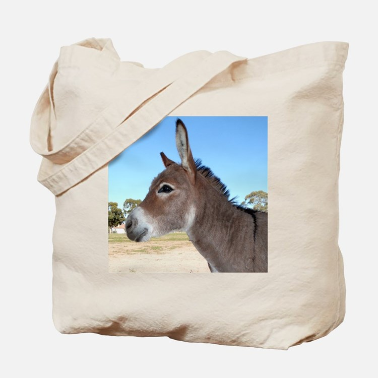 Miniature Donkey Tote Bag