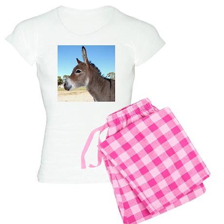 Miniature Donkey Women's Light Pajamas