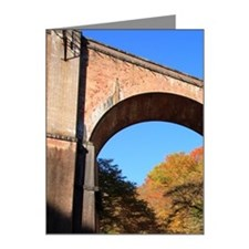 Megane-bridge seen from Usui Note Cards (Pk of 10)