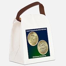 Delaware Tercentenary Half Dollar Canvas Lunch Bag