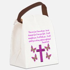 ISAIAH 41:10 Canvas Lunch Bag