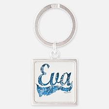 eva Square Keychain