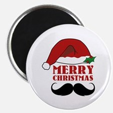 """Merry Christmas 2.25"""" Magnet (10 pack)"""