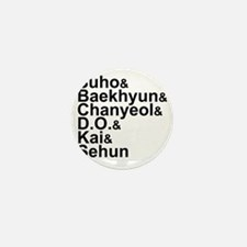 EXO-K Member List Mini Button