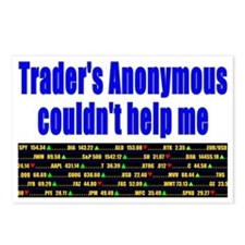 Traders anonymous couldnt Postcards (Package of 8)