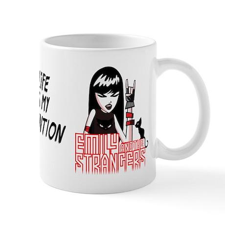 My Life Is My Invention Mug