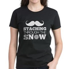 Staching Through The Snow Tee