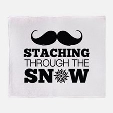 Staching Through The Snow Stadium Blanket