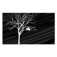 t-shirt men_Winter Tree Decal