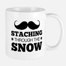 Staching Through The Snow Mug