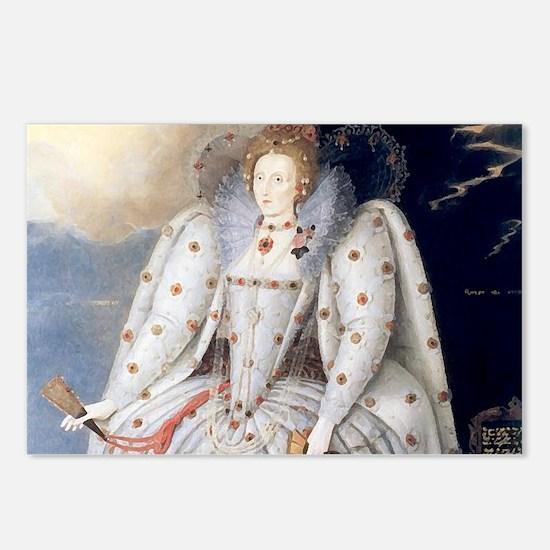 Elizabeth I Postcards (Package of 8)