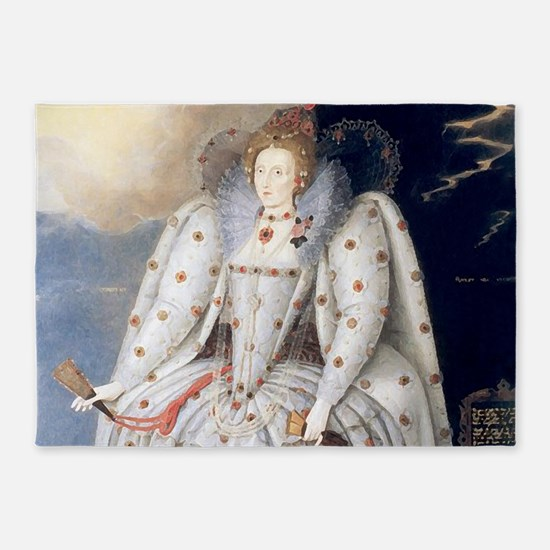 Elizabeth I 5'x7'Area Rug