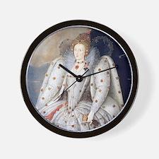 Elizabeth I Wall Clock
