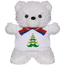 Stache-tastic Holidays Teddy Bear