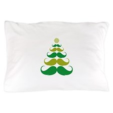 Stache-tastic Holidays Pillow Case