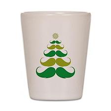 Stache-tastic Holidays Shot Glass