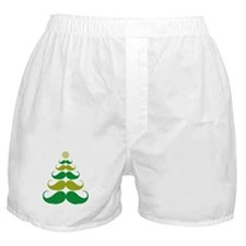 Stache-tastic Holidays Boxer Shorts