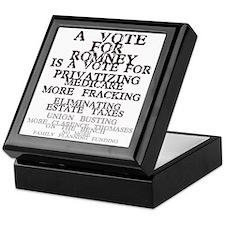 against romney Keepsake Box