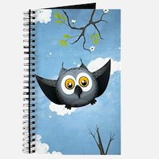 A Cute Gray Owl Journal