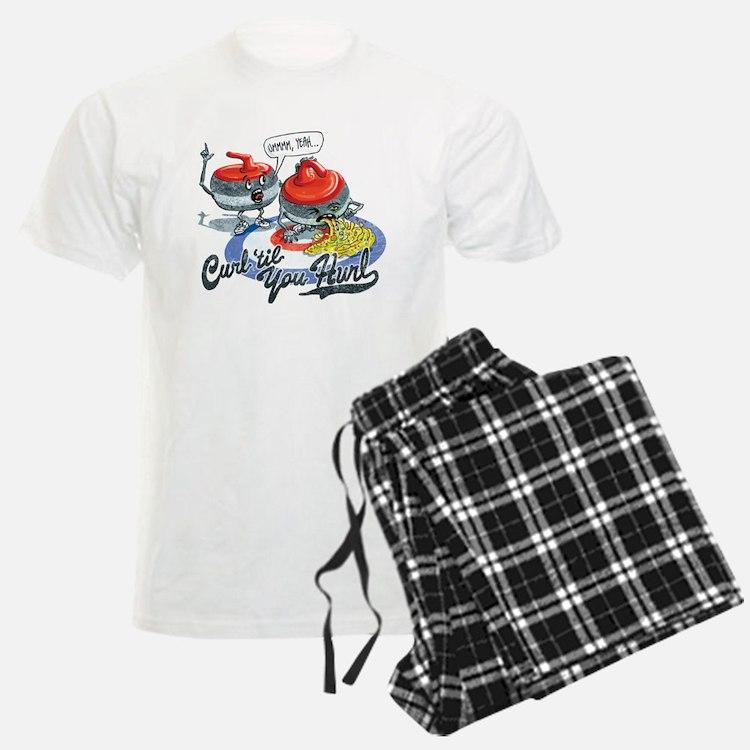 Curl Til You Hurl Pajamas