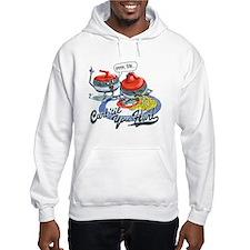 Curl Til You Hurl Hoodie Sweatshirt