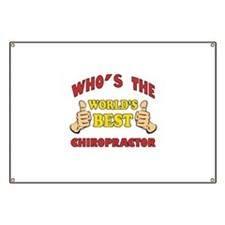 Thumbs Up Worlds Best Chiropractor Banner