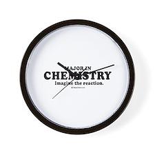 Major in Chemistry (college humor) Wall Clock
