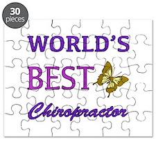 Worlds Best Chiropractor (Butterfly) Puzzle