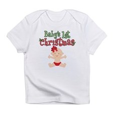 1st Christmas Baby Girl Infant T-Shirt