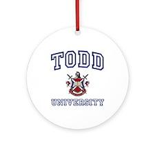 TODD University Ornament (Round)