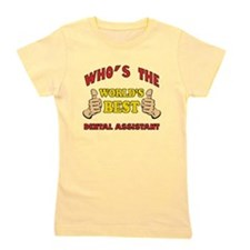 Thumbs Up Worlds Best Dental Assistant Girl's Tee