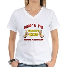 Thumbs Up Worlds Best Dental Assistant Shirt