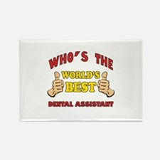 Thumbs Up Worlds Best Dental Assistant Rectangle M
