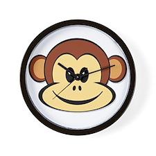 Lucky Monkey Wall Clock