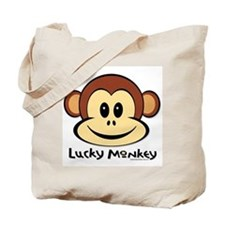 Lucky Monkey Tote Bag