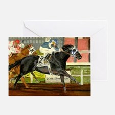 Quarter Horse Racing Greeting Cards