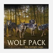 Eclipse Wolf Pack Tile Coaster