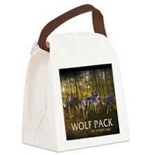 Eclipse Wolf Pack Canvas Lunch Bag